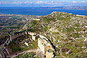 Panoramic view Acrocorinth Castle