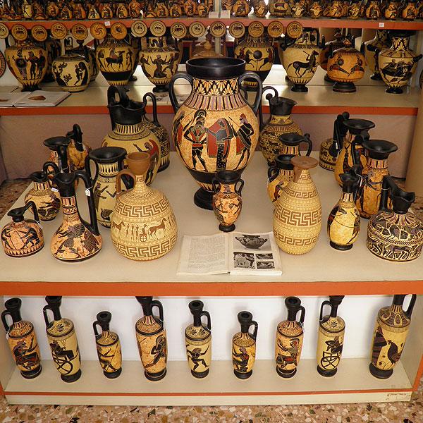Here ... & Ancient Greek Pottery Artist Shop Original Handmade Amphoras Vases ...